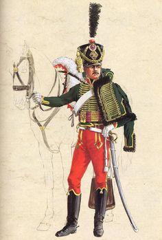 Les cavaliers de la Grande Armée :: 7ème Hussards