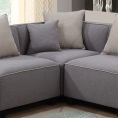 AC Pacific Holly Modular Sectional