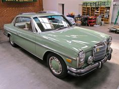 Mercedes Motoring - 1973 250C Gasoline Coupe