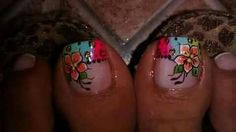 Pedicure Designs, Toe Nail Designs, Cute Pedicures, Manicure And Pedicure, Toe Nail Art, Toe Nails, My Favorite Things, Beauty, Beautiful