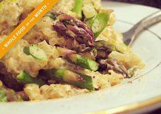 It's a rich, creamy alternative to buttery, cheesy risotto that's so delicious. Lemon Asparagus Buckwheat & Quinoa Risotto