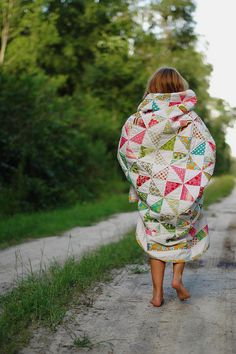 Pinwheel Quilt, Adorable Photo