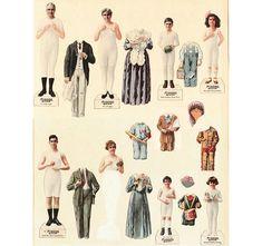 munsingwear paper dolls