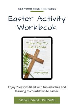 Easter can be a tough holiday to explain to children. Between the Easter bunny, loads of candy, Easter baskets, and egg hunts, the true meaning can be easily lost. But don't worry. I've created a FREE Easter Activity Workbook to help you lay a foundation of truth for your entire family. You will love the fun activities, simple ideas, and learning potential. And don't worry if you don't understand all the aspects of the Easter story! The Lesson Plans will lead you through each event. Easter Activities, Fun Activities, Easter Story, About Easter, Sunday School Crafts, Bible Crafts, Hunts, Kids Church, Easter Baskets