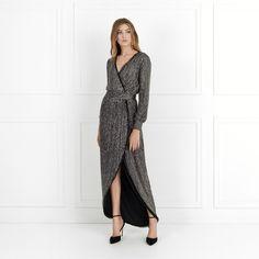Esmeralda Long-Sleeve Beaded Gown | Rachel Zoe