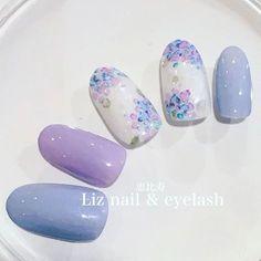 Hydrangea Nails