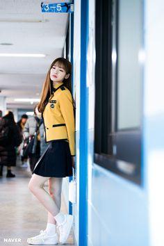 Mrzzto_ x Aysha Korean Uniform School, School Uniform Outfits, University Style, University Outfit, University Fashion, Love Fashion, Korean Fashion, Girl Fashion, Cute Girls