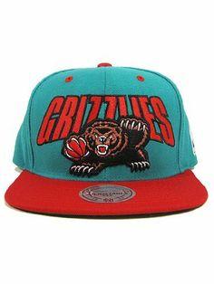 Vancouver Grizzlies Mitchell & Ness Flashback Snapback Hat Mitchell & Ness. $26.79