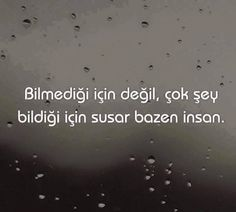 """Bilmediği için değil, çok şey bildiği için susar bazen insan."" #Sükût #altındır Poem Quotes, Daily Quotes, Wisdom Quotes, Philosophical Words, Favorite Quotes, Best Quotes, Sad Girl Photography, Good Sentences, Meaningful Words"