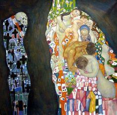 """Death and Life"" Gustav Klimt"