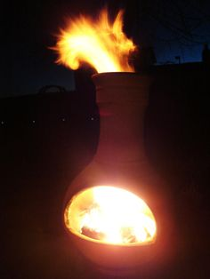 Outdoor Fireplace Chiminea Chimineas To Pinterest And Yards