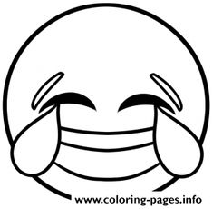 Print emoji white coloring pages_278287 coloring pages