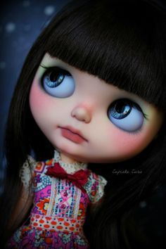 Custom OOAK Blythe Art Doll Starling by Cupcake Curio | eBay