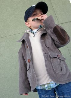 Make for Baby BOY: 25 of the Cutest  Coolest Free Tutorials for Boys Clothing