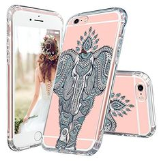 Amazon.com: iPhone 6s Plus Case, Cute iPhone 6 Plus Case, MOSNOVO Cute Giraffe Clear Design Printed Transparent Plastic Hard Back Case with Soft TPU Bumper Protective Cover for Apple iPhone 6/6s Plus (5.5 Inch): Cell Phones & Accessories