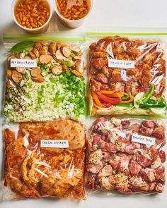 Freezer Cooking, Cooking Recipes, Healthy Recipes, Keto Recipes, Baby Recipes, Meal Prep Freezer, Freezer Meal Recipes, Crock Pot Dump Meals, Crockpot Freezer Meals