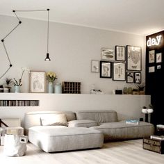 Minimalist Living Room Ideas - Locate your favored Minimal living-room pictures right here. Check out photos of motivating Minimalist living-room design ideas to develop your excellent house. Home Interior, Living Room Interior, Home Living Room, Interior Architecture, Living Room Designs, Living Room Decor, Living Spaces, Apartment Living, Modern Interior