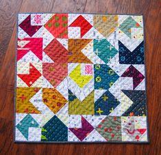 Alison Glass Mini Quilt | Olivia Jane