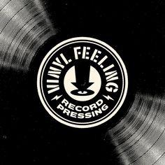 PsyTek Design » Vinyl Feeling Record Pressing Stencil Font, Brand Assets, How To Make Stencils, Volkswagen Logo, Corporate Identity, Juventus Logo, Screen Printing, Graphic Design, Feelings