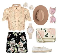 Rose Sunny by teciane-rodrigues on Polyvore featuring moda, self-portrait, Mint Velvet, Accessorize, Cara and Satya Twena