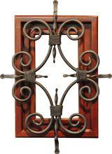 GlassCraft Front Door   with Florentine Speakeasy window