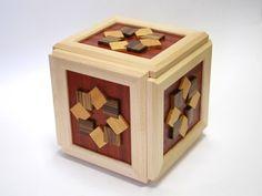 New 1536 STEPS Karakuri gimmick Japanese Puzzle Box Wooden Puzzle Hakone Yosegi Wooden Puzzles, Wooden Boxes, Japanese Puzzle Box, Logic Games, Hakone, Decorative Boxes, Traditional Japanese, Traditional, Wood Crates
