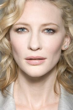 Cate Blanchet---she is one of the most beautiful persons I have ever seen