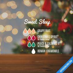 Sweet sleep diffuser blend