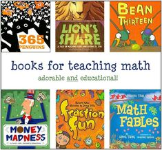 Incredible list of books to be used with math.  The site is a gold-mine for teachers, librarians and parents.