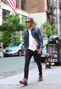 Mens fashion Denim Staples