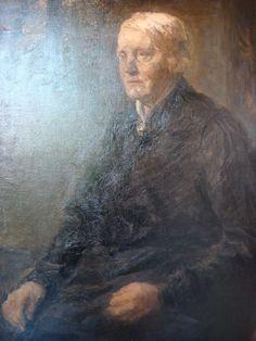 Den Haag - De Mesdag Collectie - Jozef Israëls - Portret Van Sientje Mesdag-Van Houten (1906)