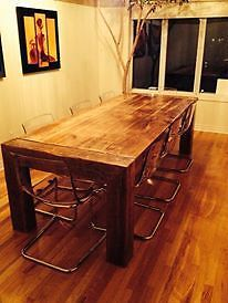 1000 images about cuisine on pinterest tables de paris - Modele de table de cuisine en bois ...