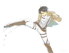 Levi everybody. The only human who can kick so flawlessly and cause so much pain at the same time. Levi everybody.