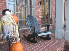love this chair for morning coffee on the porch