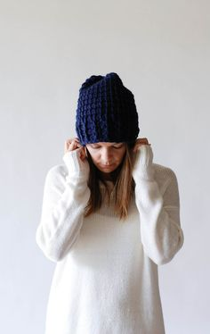 the madawaska hat is made of a soft blend of acrylic and wool, it makes a wonderful combination for softness and warmth. it features chunky stacked lines
