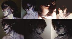 Rogue Titan - Face paint by Renoredfox
