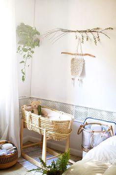 Décor do dia: quarto artesanal para o bebê