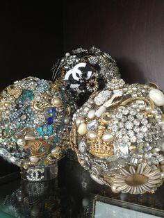Vintage jewelry ball