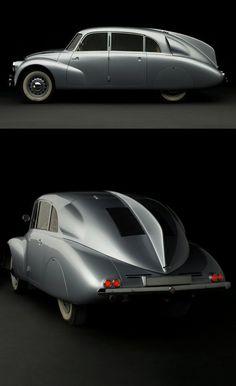 1940 Tatra T87 // Classic & vintage car design