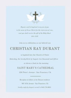 9 best religious invitations images on pinterest baptism