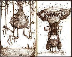Paride Bertolin Blog: April Spooks - Doodlers Anonymous