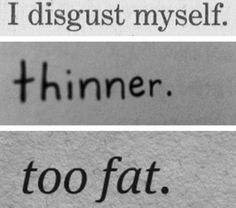 The Real Deal On Eating Disorders. And Thinspo. written for Meets Obsession