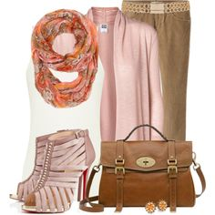 Romantic Scarf, created by jewhite76 on Polyvore