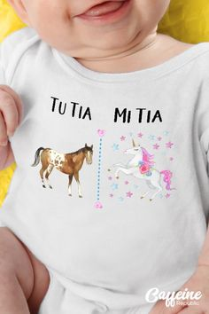 Aunt T Shirts, Aunt Gifts, Family Outfits, Baby Body, Cute Tshirts, Mom And Baby, Future Baby, Cute Babies, Kids Fashion