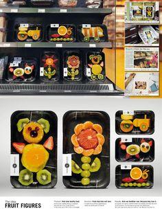 Per far mangiare la frutta ai bambini..ma anche ai grandi!