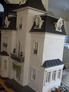 Miniature French Chateau Exterior