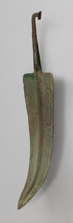 Spearhead, 12th century B.C.; Late Bronze Age  Cypriot  Copper-based metal