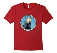 Icelandic horse t shirt - Iceland horse shirt women- men...