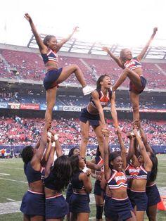 Morgan State University Cheerleaders   by Kevin Coles