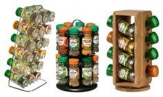 Carrousels à épices avec pots